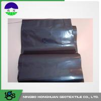 Wholesale 0.05mm Waterproof HDPE Geotextile Liner / Geomembrane Liner Black For Mining Liners from china suppliers