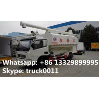 Wholesale Euro 4 120hp CLW5110ZSLD4 animal bulk feed delivery truck for sale, 10-14m3 farm-oriented livestock animal feed truck from china suppliers