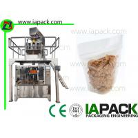 Wholesale Corn Flake Stand Pouch Packing Machine Stand-up Zipper Bag Packing machine Filling Range 5-1500g from china suppliers