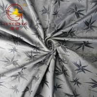 Wholesale 2020 winter embossed pattern velour for fashion apparel from china suppliers