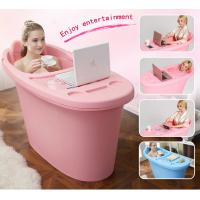 Wholesale low price food grade plastic tub PP material adult bathtub portable hot tub from china suppliers