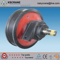 Wholesale Easy Operated Casting Single Flange Wheel In Crane from china suppliers