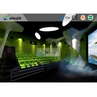 Wholesale Special Effect Large Curved Screen 5D Movie Theater Dynamic Chair from china suppliers