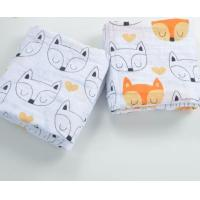 Wholesale Babies 100% cotton muslin swaddle blanket from china suppliers