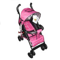 Wholesale Red Rear Wheel Deluxe Buggy Baby Strollers / Lightweight Baby Stroller from china suppliers