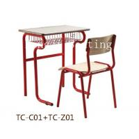 China school desk and chair,school chair,student desk,school furniture,primary school desk and chair on sale