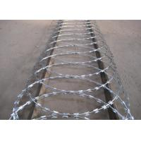 Wholesale High Security Powder Coated Barbed Wire Fence For Express Highway Guardrails from china suppliers