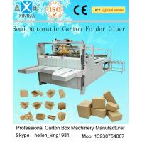 Wholesale 4kw Semi - Auto Carton Packing Machine For Folding And Gluing Of Paperboard from china suppliers