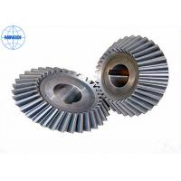 Wholesale Industrial Stainless Steel Straight Bevel Gears With Chrome Plating / Helical Bevel Gear from china suppliers