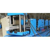 Wholesale Roof Ridge Cap Roller Making Machine Single Chain 7.5Kw Standing Seam Roll Former from china suppliers