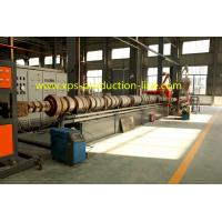 Wholesale CFC / HCFC / HFC Free XPS Extruder Equipment , Extruded Styrofoam Sheets Machine from china suppliers