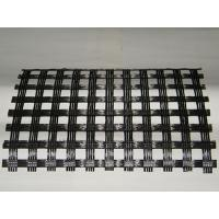 Quality PP Biaxial Warp Knitted Geogrids In Pavement Construction , Fiberglass Mesh Cloth  for sale