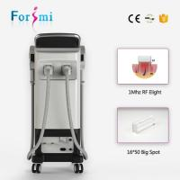 Wholesale 3000W SHR ipl german lamp with 2 handles multifuction ipl hair removal and skin rejuvenation from china suppliers