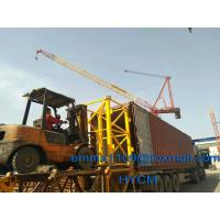 Buy cheap Not Used Topkit Tower Crane 50 meter Jib 1.5t Tip Load Specs Factory Cost from wholesalers
