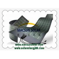 Quality BLACK  FLEXIBLE CIGS THIN FILM SOLAR PANELS MS-FLEX-TSP250 for sale