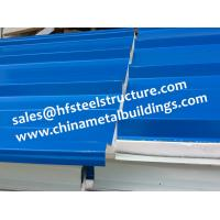 Wholesale Chinese Design EPS Sandwich Panels For Walk In Cold Room 1150 Width from china suppliers