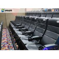 Wholesale Metal Screen Modern Interactive 4D Movie Theater With Chair Effects Vibration Seats from china suppliers