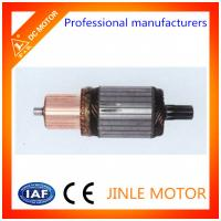 Wholesale Customized 12V Starter Motor Armature Spare Parts With 28 Slots / OD 55mm from china suppliers