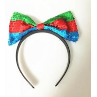Wholesale LED knitted bow headband,led flashing knitted bow headband, light up bow headband from china suppliers