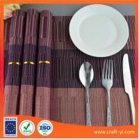 Wholesale table mat in Textilene mesh fabric waterproof and Heat Insulation from china suppliers