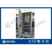 Wholesale Standard Industrial Outdoor Telecom Cabinet , Outdoor Electrical Cabinet With Rectifier System from china suppliers