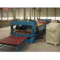 Wholesale Metal Roof Glazed Tile Roll Forming Machine Color Steel Glazed Tile Machine from china suppliers