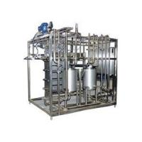 Wholesale Plate Pasteurizer Machine for Dairy Milk Beer Pasteurization from china suppliers