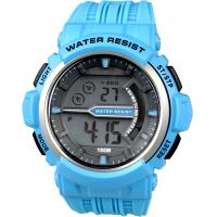 Wholesale EL Light Gents Digital Watch With 100m Water Resistant Chronograph from china suppliers