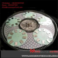 Wholesale vitrified bond double disc grinding wheel  Alisa@moresuperhard.com from china suppliers