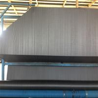 Wholesale 90g PP Woven Geotextile Fabric / Weed Control Fabric 1m - 6m Roll Width from china suppliers