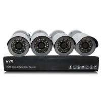 Wholesale 1.0 Megapixel IP Bullet wireless security camera systems NVR Kits from china suppliers