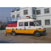 Wholesale Scissor Type Vehicle Mounted Work Platforms 1.8 × 1 Platform Size Zero Emission from china suppliers