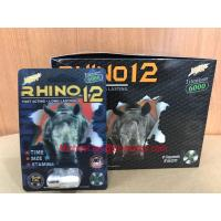 Wholesale Titanium 6000 New Rhino 12 3D Packaging Male Enhancement Pills from china suppliers