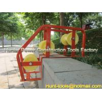 Wholesale 3 Rollers Manhole Frame with Aluminum roller body from china suppliers