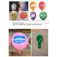 Wholesale Imprint 100% natural latex balloon for business anniversary, printed Latex balloons, from china suppliers