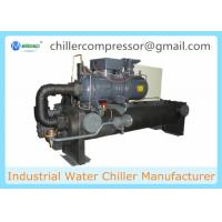 Wholesale 100 Tons Screw Compressor Water Cooled Chiller for Cooling Machines from china suppliers