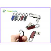 Wholesale High Speed Leather USB Flash Disk 64gb / USB 2.0 Pen Drive 4gb With FCC RoHS Standard from china suppliers