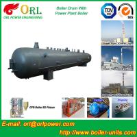 Wholesale 50 T Water Tube Boiler Mud Drum Once Through High Heating Efficiency from china suppliers