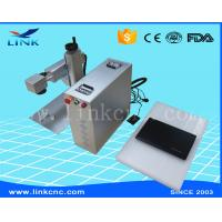 Quality 20W 30W 50W Mini Fiber Laser Marking Machine / 10640 nm Laser Marker For Metal for sale