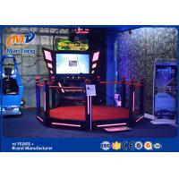 Wholesale 55 Inch Screen Red HTC Vive Games / Virtual Reality Simulator Game Machine With Metal Material from china suppliers