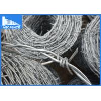 Wholesale Security Coiled Razor Barbed Wire , Razor Fencing Wire With BV Certification from china suppliers