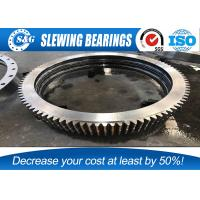 Buy cheap Stainless Steel Double Row Ball Structure Slewing Bearing For Mining / Heavy Equipments from wholesalers