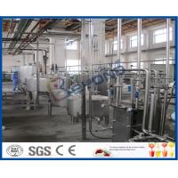 Wholesale UHT Sterilizer Dairy Processing Plant , Yogurt Processing Machine With CIP System from china suppliers