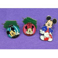 Wholesale Cute Mouse Hard Lapel Enamel Pins / Novelty Lapel Pins Custom / Color In Nickel Plating from china suppliers