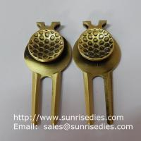 Metal Golf Divot tools for repairing pitch mark