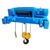 Wholesale Motor Protection IP54 Custom Double Girder Electric Steel Wire Rope Hoists SH Type from china suppliers