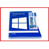 Wholesale 32 bit / 64 bit Microsoft Windows 8.1 Pro Retail Pack windows 8.1 pro recovery Restore from china suppliers