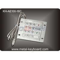 Wholesale 16 Keys Industrial Metal Keyboard with Rugged Stainless Steel Material from china suppliers