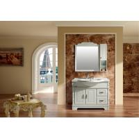 Buy cheap 5mm silvered float mirror double bathroom sink vanity customized Dimenstions from wholesalers