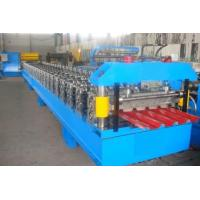 Wholesale 0.25 - 0.6mm Roof Tile / Roof Panel RollFormer Machine With Hydraulic Cutting 4Kw from china suppliers